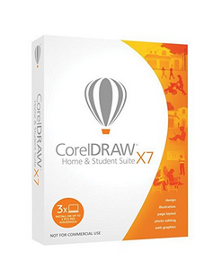 Corel DRAW Home & Student Suite X7 - Software de gráficos