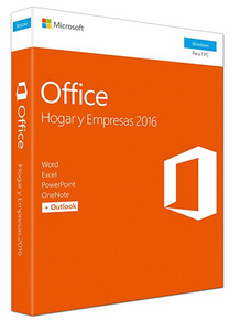 Microsoft Office Home & Business 2016 - Suites De Programas, Español, V2