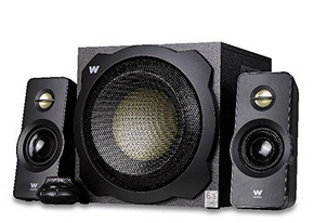 "Woxter Big Bass 260 - Altavoces multimedia 2.1 (6.5"", 150 W, 90-20000 Hz), color negro"